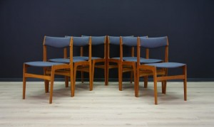 RETRO TEAK CHAIRS DANISH DESIGN 60 70 VINTAGE