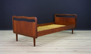 VINTAGE BED DANISH DESIGN TEAK CLASSIC 60 70