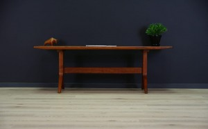 VINTAGE MID-CENTURY TEAK COFFEE TABLE DANISH DESIGN