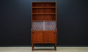 BOOKCASE SCANDINAVIAN DESIGN TEAK RETRO