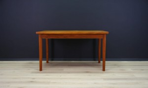 TABLE RETRO TEAK DANISH DESIGN VINTAGE CLASSIC