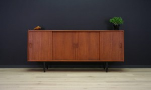 TEAK SIDEBOARD 60 70 RETRO DANISH DESIGN