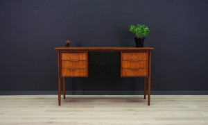 WRITING DESK ORIGINAL TEAK RETRO VINTAGE