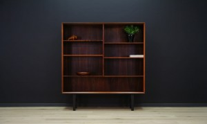 BROUER BOOKCASE DANISH DESIGN ROSEWOOD