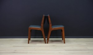 JOHANNES ANDERSEN CHAIRS TEAK DANISH DESIGN