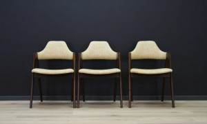 KAI KRISTIANSEN CHAIRS COMPASS DANISH DESIGN