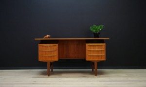 CLASSIC WRITING DESK DANISH DESIGN TEAK 60 70