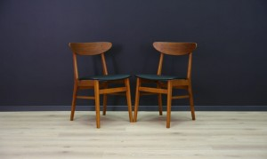 CHAIRS TEAK RETRO DANISH DESIGN CLASSIC