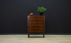 CHEST OF DRAWERS CLASSIC VINTAGE DANISH DESIGN RETRO