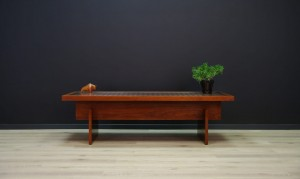 COFFEE TABLE ROSEWOOD VINTAGE 60 70 RETRO