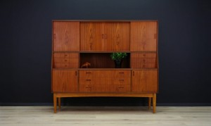 DANISH DESIGN HIGHBOARD TEAK VINTAGE CLASSIC 60/70