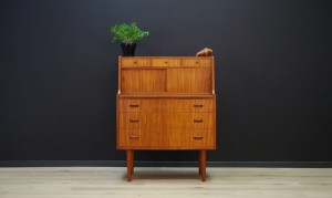 SECRETAIRE TEAK DANISH DESIGN VINTAGE RETRO