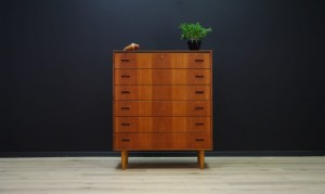CLASSIC CHEST OF DRAWERS DANISH DESIGN TEAK MID-CENTURY