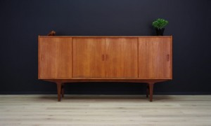 VINTAGE HIGHBOARD DANISH DESIGN MID-CENTURY TEAK