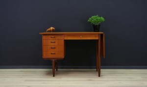 WRITING DESK RETRO TEAK DANISH DESIGN