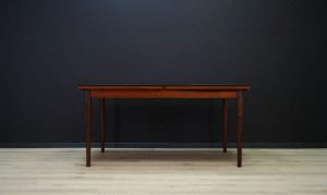 TABLE TEAK VINTAGE MID-CENTURY DANISH DESIGN