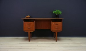 DANISH DESIGN WRITING DESK MID-CENTURY TEAK