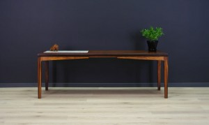 COFFEE TABLE ROSEWOOD DANISH DESIGN VINTAGE