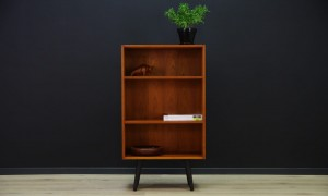 60 70 BOOKCASE TEAK SCANDINAVIAN DESIGN