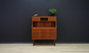 RETRO TEAK SECRETAIRE VINTAGE DANISH DESIGN