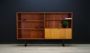 RETRO BOOKCASE DANISH DESIGN VINTAGE TEAK