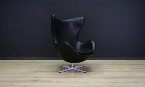 Terrific Arne Jacobsen The Egg Chair Elegance Leather Black Pabps2019 Chair Design Images Pabps2019Com
